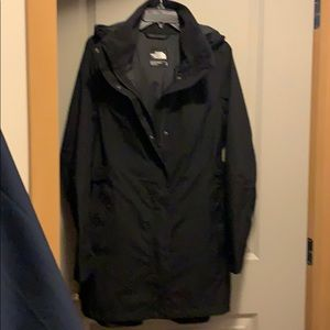 North Face coat with hood